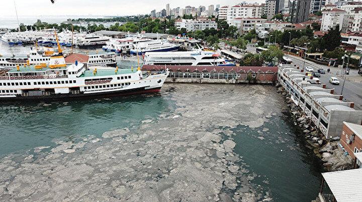 İstanbulda deniz salyası tehlikeli boyutlara ulaştı: Karadenize yayılma riski var!