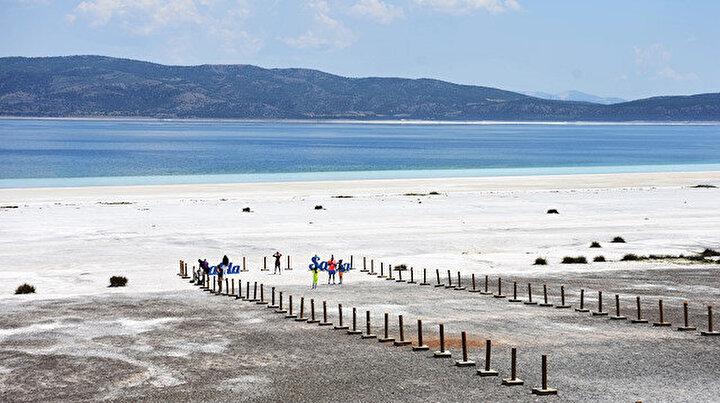 Saldanın doğallığı gelecek nesillere aktarılacak: Çevre koruma projesinde sona yaklaşıldı
