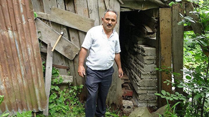 Trabzonda inanılmaz olay: Oğullarına kızdı garaja hapsetti, 42 yıldır bir kere bile dışarı çıkmadı