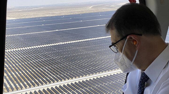 Türkiyenin en büyüğü olacak: Karapınar Güneş Enerjisi Santrali uzaydan görülebilecek