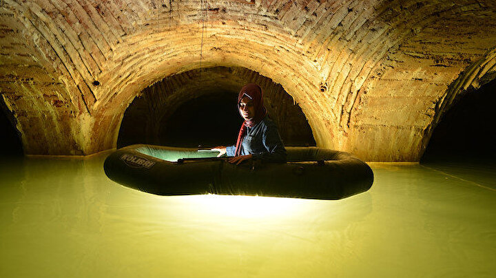Tarihi Yarımadanın altında botla keşif yaptılar: Üstü kadar altı da gizemli