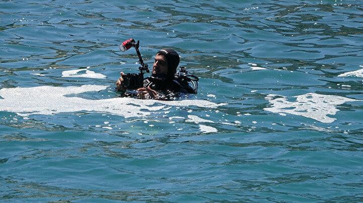 Rizede müsilaj paniği: Denizde gören vatandaşlar yetkililere haber verdi