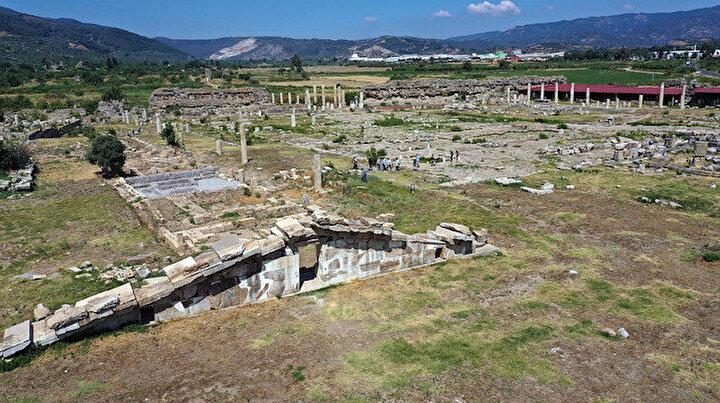 Kazıda hedef: Zeus tapınağı