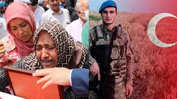 Şehit Piyade Astsubay Cihan Çifcibaşı gözyaşları ve dualarla uğurlandı: Annesinin Canımın içi gitti feryadı yürek dağladı