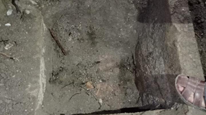 Villa yapacağı arazide tesadüfen keşfetti: Kepçeyi vurdu ortaya çıktı