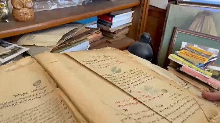 Cumhurbaşkanlığı arıyordu Kadıköydeki sahafta bulundu: Osmanlı belgelerini 25 yıl önce çöpten almış