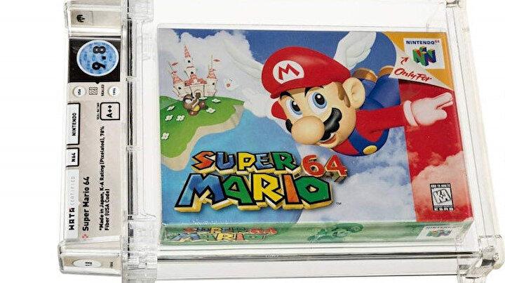 Super Marionun 1996da çıkan oyunu 1,6 milyon dolara satılarak rekor kırdı