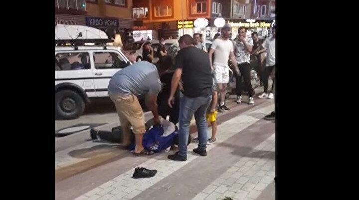 Bursada ilginç olay: Kendisine bıçak çeken kişiyi kelepçeledi