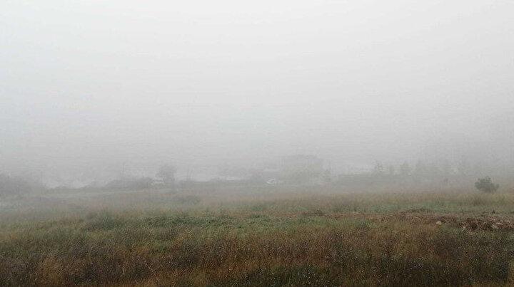 İstanbulda Temmuzun ortasında sis şaşırttı