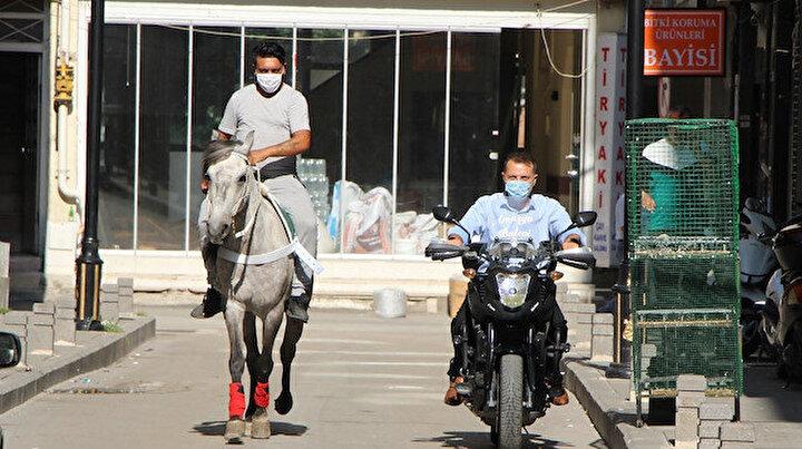 Amasyalı muhtar motoruyla kurban timini kurdu: Atlı vatandaşlar da eşlik edecek