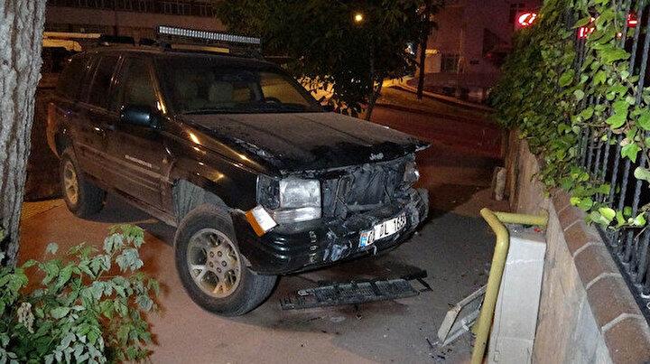 11 yaşındaki çocuk babasından gizlice kaçırdığı araçla kaza yaptı