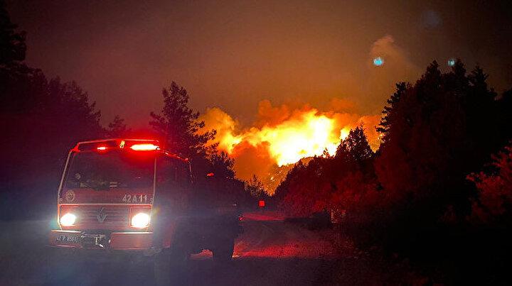 Antalyada bir orman yangını daha: Altı mahallede bazı evler boşaltıldı