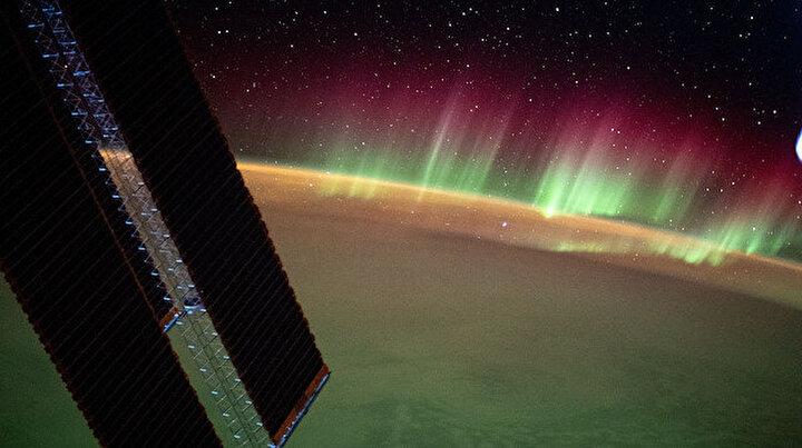Uzaydan görüntülendi: Hint Okyanusundaki kuzey ışıkları