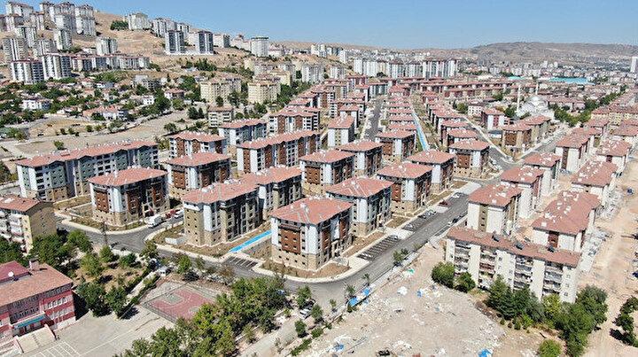 7.5 şiddetine bile dayanıklı: Deprem sonrası Elazığ'da bir senede 24 bin 83 konut inşa edildi