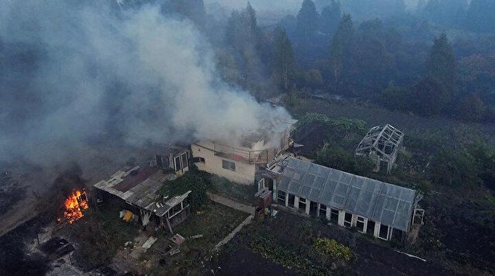 Rusyada yangın kâbusu bitmiyor: Portekiz büyüklüğündeki bir alan küle döndü