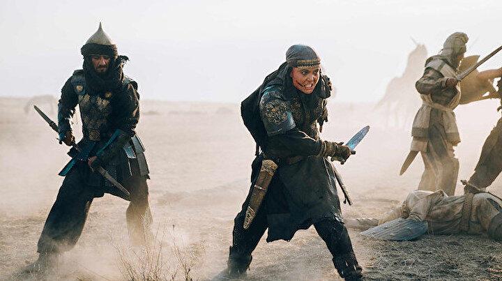 Savaşçı Tomris Hatunun hayatını anlatan Tomris filmi vizyona çıkmak için gün sayıyor