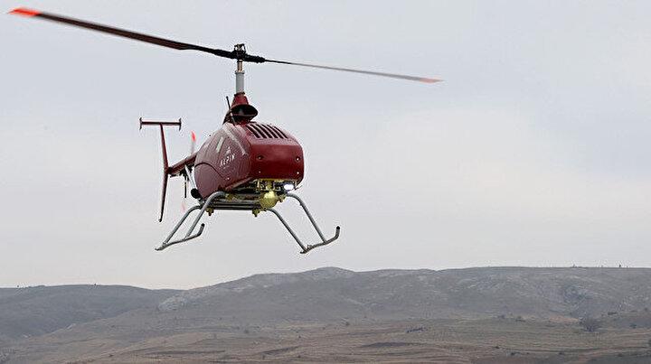 İnsansız helikopter askeri operasyonlara hazırlanıyor: Silah ve mühimmat entegre edilecek