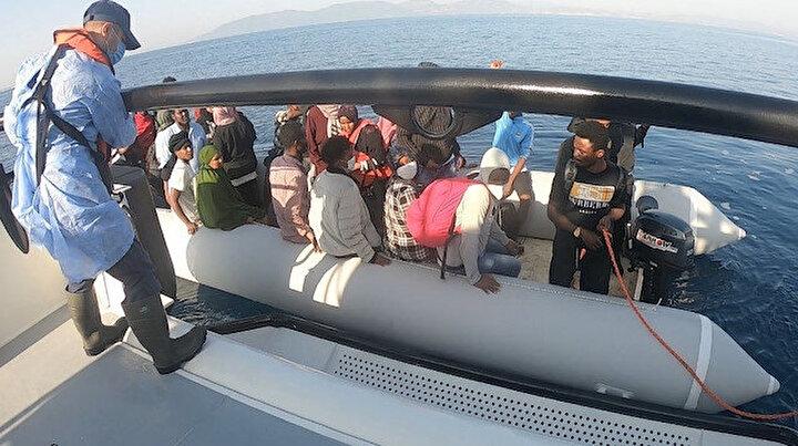 İzmir açıklarında can pazarı: Yunanistan ölüme terk etti 166 kaçak göçmen kurtarıldı