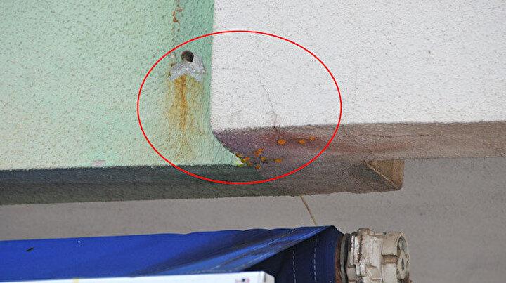 Esnaf duvardan akan sarı sudan şüphelenince acı gerçek ortaya çıktı