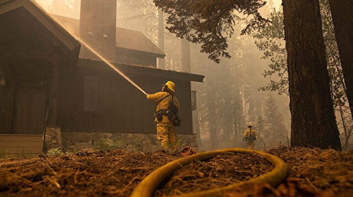 ABDdeki yangın kontrol altına alınamıyor: 34 bin ev tehdit altında