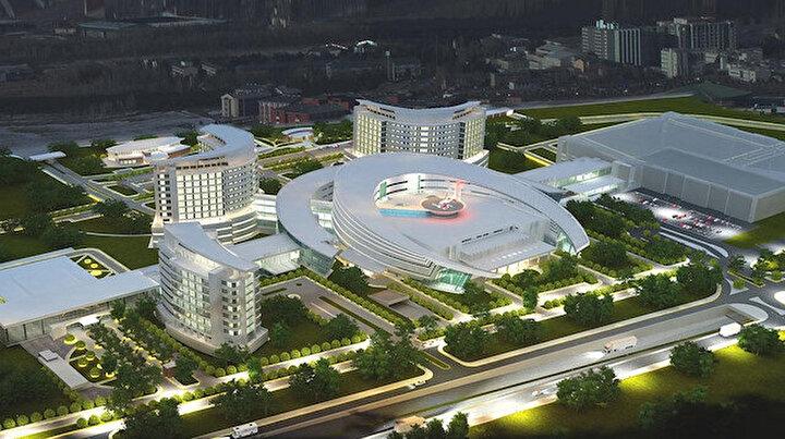 Erzurum Şehir Hastanesi 1 milyon 250 bin hastaya şifa dağıttı: Kovid yükünün yüzde 95ini yükleniyor
