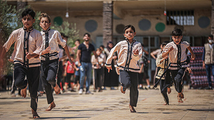 İdlibli çocuklar  Umut Olimpiyatlarına katıldı