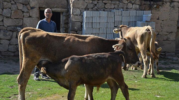 Devlet desteğiyle hayvan sahibi olan eski hükümlü çocuklarını geleceğe hazırlıyor