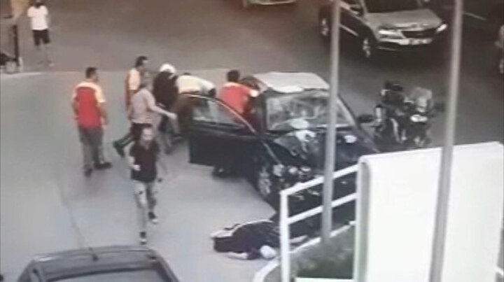 Suç makineleri polisten kaçarken dehşet saçtı: O anlar kamerada