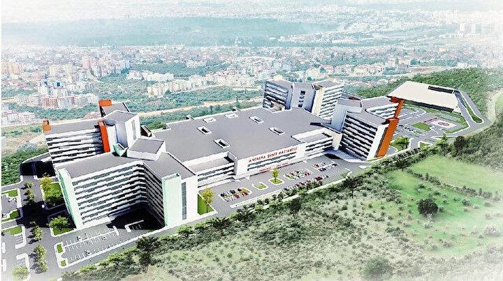 Antalyaya dev şehir hastanesi: Günlük 50 bin hastaya hizmet verecek