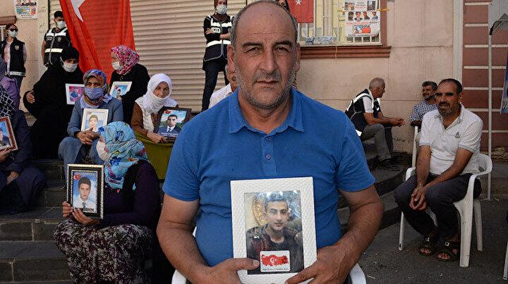 Evlat nöbetindeki baba: Oğlum dön gel devlet güçlerine teslim ol dayanacak gücüm kalmadı
