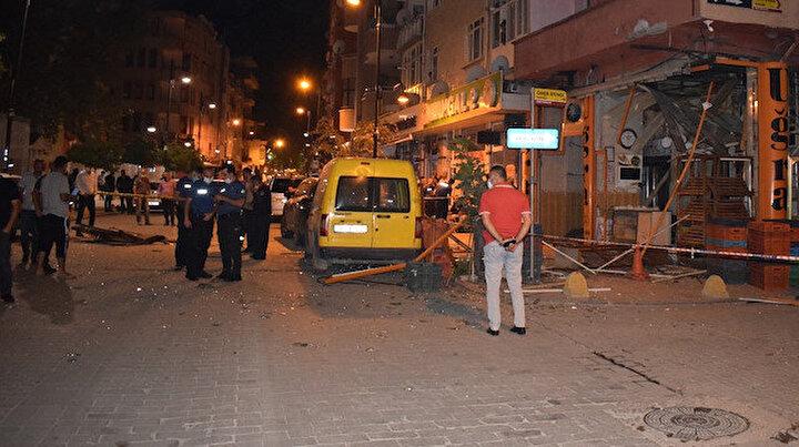 Malatya'da ekmek fırını bomba gibi patladı: Ortalık savaş alanına döndü
