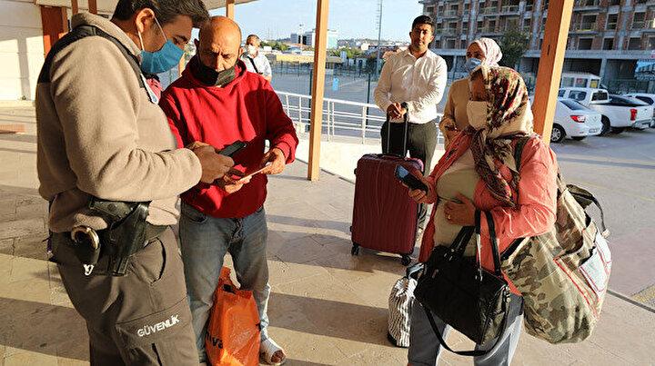 Şehirlerarası toplu taşımada PCR testi zorunluluğu başladı: Yolculara test sorgulaması yapıldı