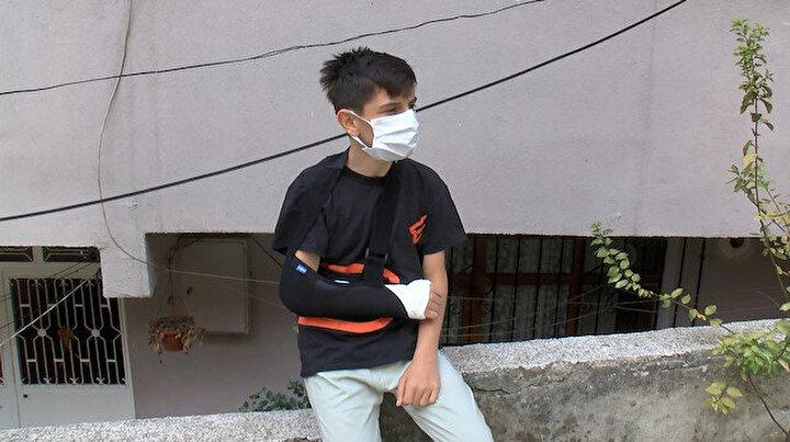Sarıyerde başıboş köpek dehşeti: 14 yaşındaki çocuk ölümden döndü Buradan alınmalılar okula işe gidemiyoruz