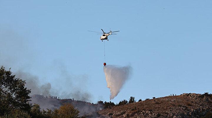 Ankarada orman yangını: Havadan ve karadan müdahale ediliyor