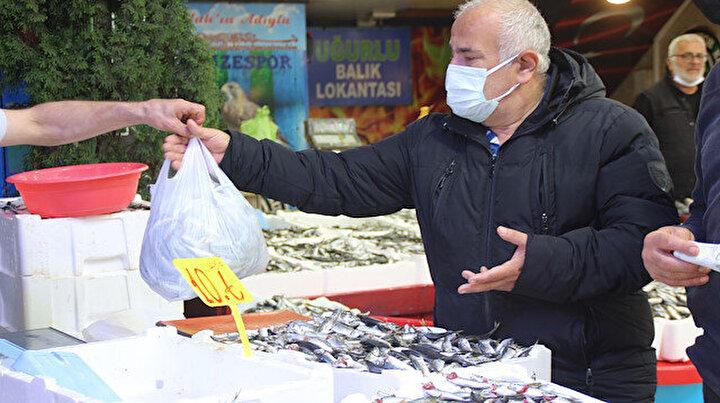 Karadenizde istavrit bereketi: Kilosu 5 liraya düştü vatandaş kasa kasa alıyor