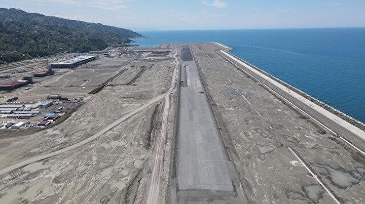 Türkiyede 2. olacak: Havalimanına ilk iniş için tarih verildi
