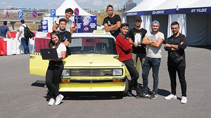 1989 model Serçe'yi sürücüsüz taksi yaptılar