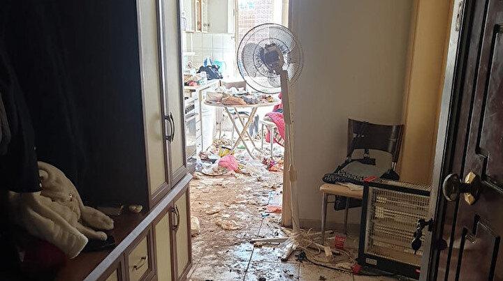 Dairesini çöp eve çevirdi, apartman sakinlerini isyan ettirdi
