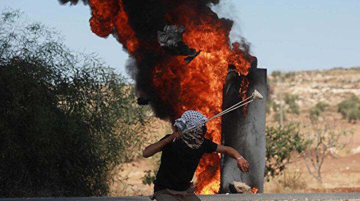 İşgalci İsrail Batı Şeriadaki gösterilerde beş Filistinliyi yaraladı