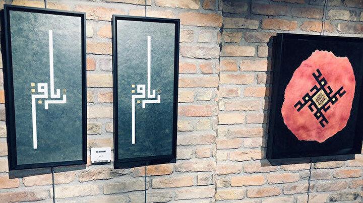 Gülnihal Gül Mamatın Özgün Hat Atölyesi Sergisi Nevmekan Bağlarbaşı Galeride