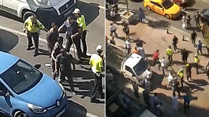 İstanbulun göbeğinde cam silici terörü: Bıçak ve sopayla mekan bastılar