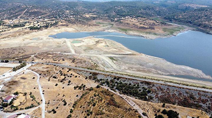 Bodrumda tehlike çanları: Mumcular Barajının doluluk oranı yüzde 10un altında