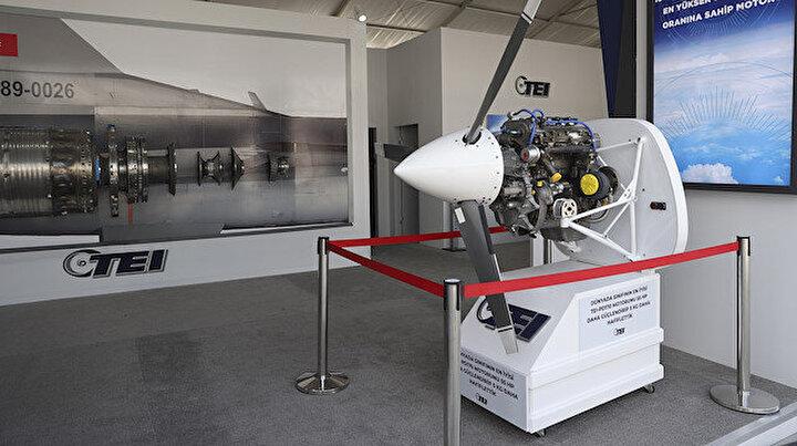 Türkiyenin yeni İHA motoru ilk kez sergilendi