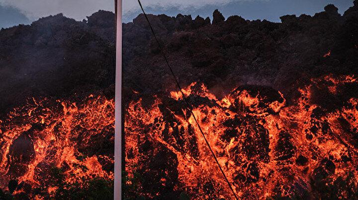 İspanyada yanardağ kâbusu devam ediyor: Binlerce insan evinden oldu