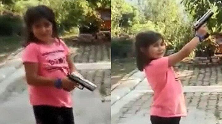 Rizede akılalmaz olay: Çocuğun eline silah verip zorla ateş ettirdi
