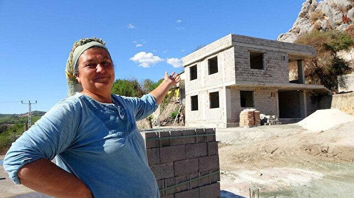 Yangın mağduru aileler yeni evlerine kavuşacakları günü iple çekiyor: Şükürler olsun devlet yapıyor