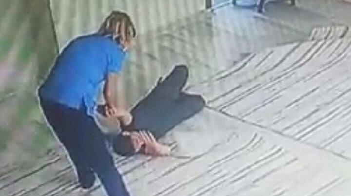 Engelli öğrenciyi darp etmiş iddiaları reddetmişti: Şiddetin kamera kayıtları ortaya çıktı