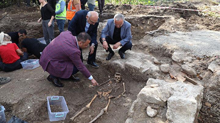 Yol çalışmasında bulunmuştu: 2 bin yıllık ikinci lahit açıldı
