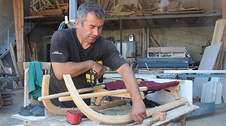 Avrupadan bin 500 euroya alınan kızaklar Tokat'ta bin 500 TLye üretildi
