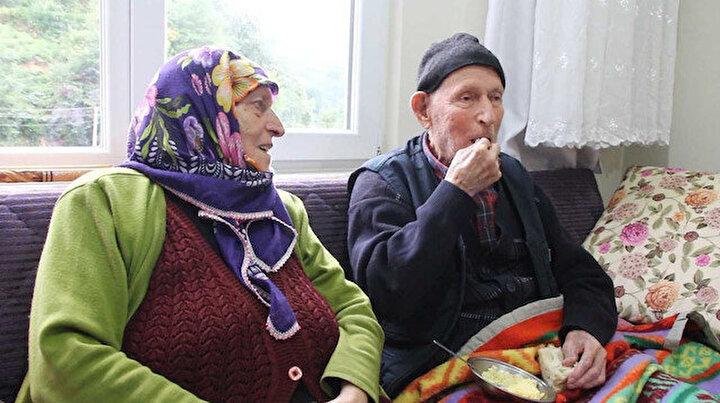 110 yaşındaki Dursun Ali dede uzun yaşamın sırrını anlattı: Her gün bir kaşık alıyorum